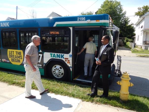 GCF Donors take a tour of Covington