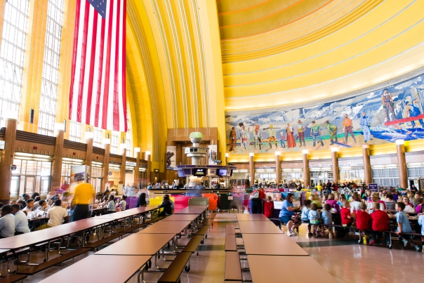 Our 2014 Annual Report cover features Union Terminal. Learn more about our work with the Cultural Facilities Task Force.