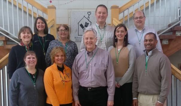Jim Huizenga, GCF staff, and friends volunteered at Ronald McDonald House Charities Greater Cincinnati as a way to celebrate Jim's retirement.